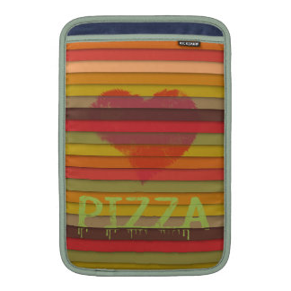 Love pizza - pizza is love, pizza is life MacBook sleeve