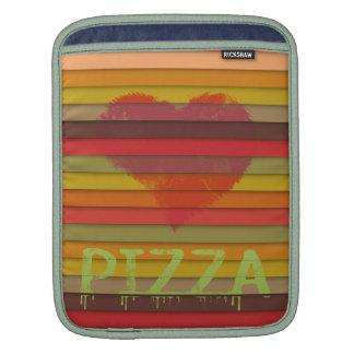 Love pizza - pizza is love, pizza is life iPad sleeves