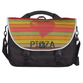 Love pizza - pizza is love, pizza is life laptop bags