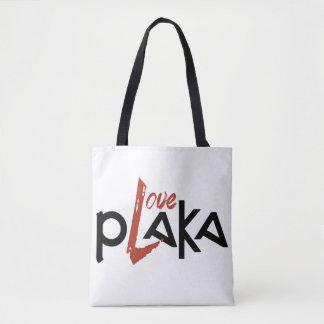 Love Plaka Tote Bag