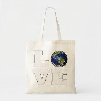 Love Planet Earth Budget Tote Bag