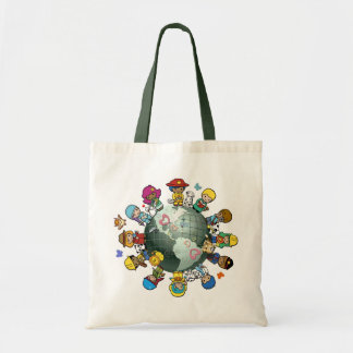 Love Planet Earth: Unite for Peace Tote Bags