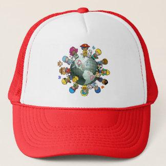 Love Planet Earth: Unite for Peace Trucker Hat