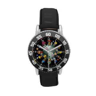 Love Planet Earth: Unite for Peace Wristwatches