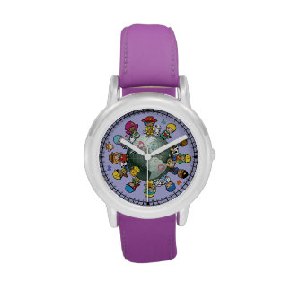 Love Planet Earth: Unite for Peace Wrist Watches