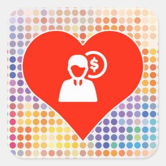 Love Planning Square Sticker