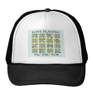 Love Playing Tic Tac Toe.ai Hat