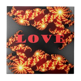 Love.png Azulejo Cuadrado Pequeño