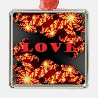 Love.png Metal Ornament