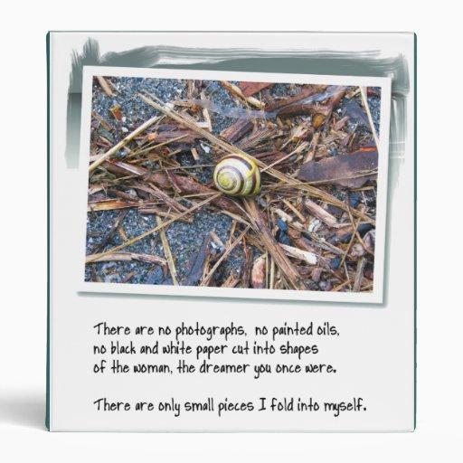 Love Poem and Snail Binder