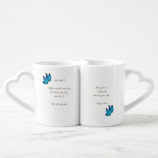 Love Poem Coffee Mug Set
