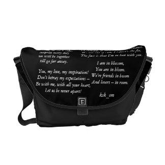 Love Poems Messenger Bag