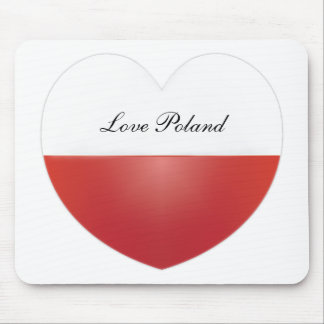Love Poland Mousepad