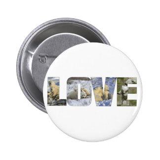LOVE, POLAR BEAR STYLE PINS