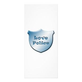 Love Police Custom Rack Card