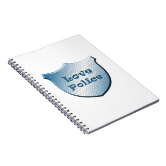 Love Police Spiral Notebook