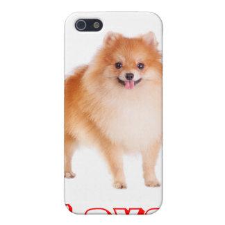 Love Pomeranian Pom Pom Puppy Dog iPhone 4 Case