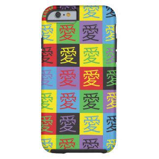 Love Pop Art Tough iPhone 6 Case