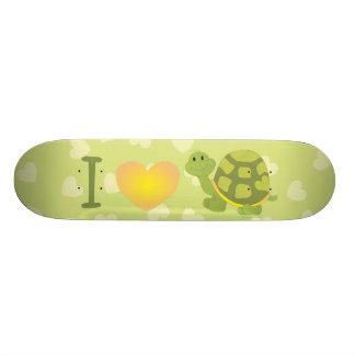 Love Pop Turtle Skateboard Deck