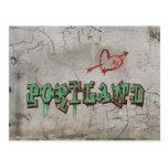 Love Portland Post Card