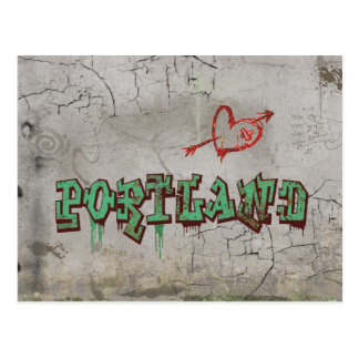 Love Portland Post Card