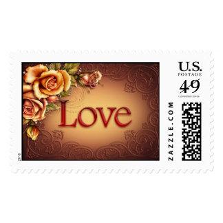 Love - Postage Stamp