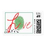 Love Postage Stamp