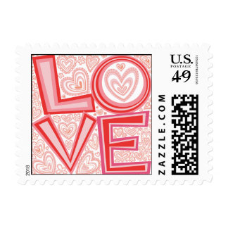 Love!  postage stamp