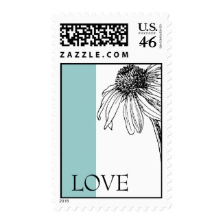 Love postage stamps stamp