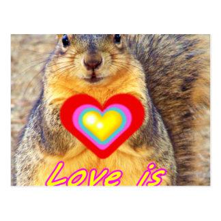 Love_ Postcard