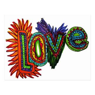 LOVE Postcard:. Postcard