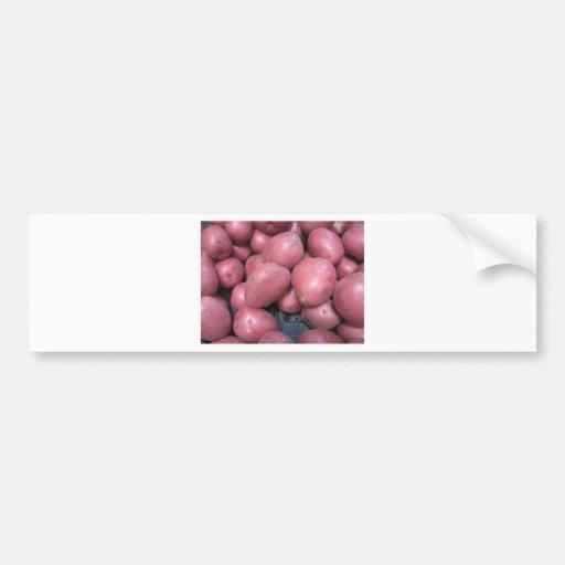 Love Potatoes Bumper Stickers