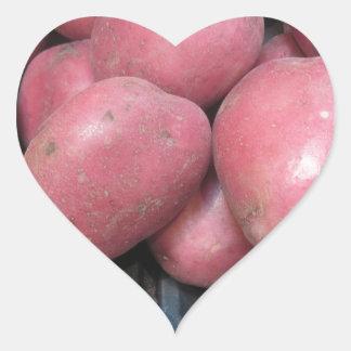 Love Potatoes Heart Sticker