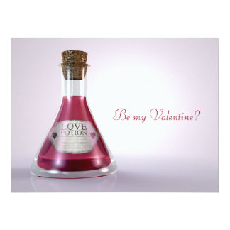 Love Potion - Be My Valentines Card
