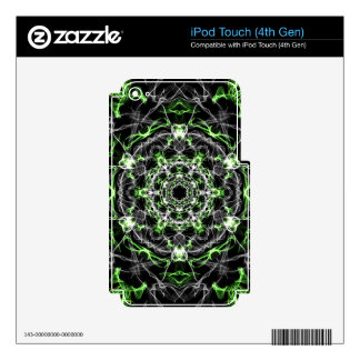 Love Potion Mandala kaleidoscope pattern iPod Touch 4G Decal