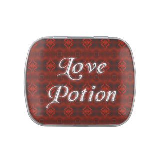 Love Potion mint tin Jelly Belly Candy Tins