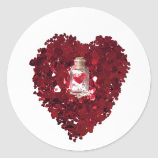 Love Potion Number 9 Classic Round Sticker