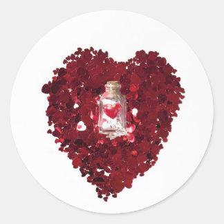 Love Potion Number 9 Round Sticker