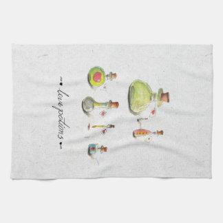 love potions kitchen towel