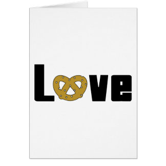 Love Pretzels Gift Greeting Card
