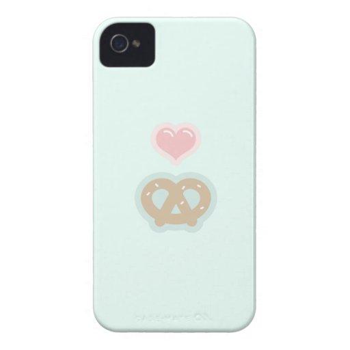 Love & Pretzels iPhone 4 Case-Mate Case