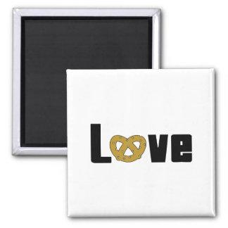 Love Pretzels Magnet
