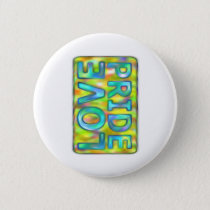 love PRIDE yellow nuances on text veiled Button
