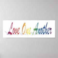 Love Print print