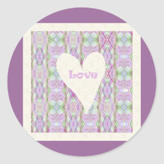 Love Products Classic Round Sticker