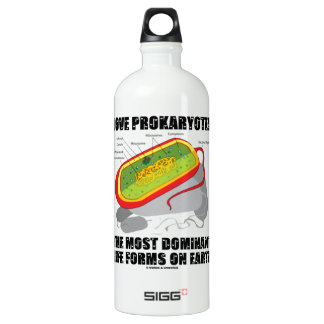 Love Prokaryotes Most Dominant Life Forms On Earth Water Bottle