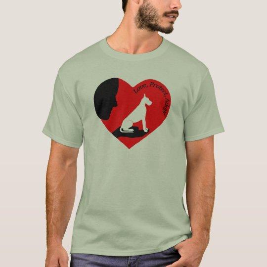 Love, Protect, Adopt... T-Shirt