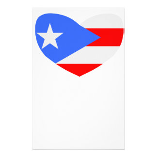 Love Puerto Rico Personalised Stationery