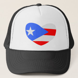 Love Puerto Rico Trucker Hat