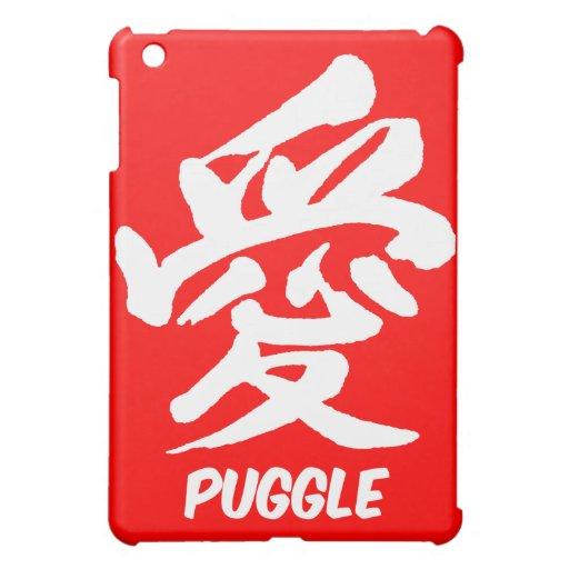 love puggle iPad mini cover